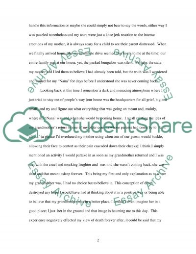 Child Development High School Essay essay example