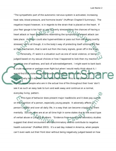 Psychology High School Essay