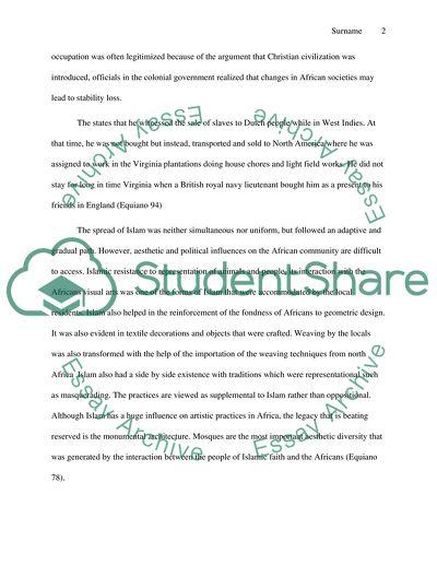 History 1A Essay
