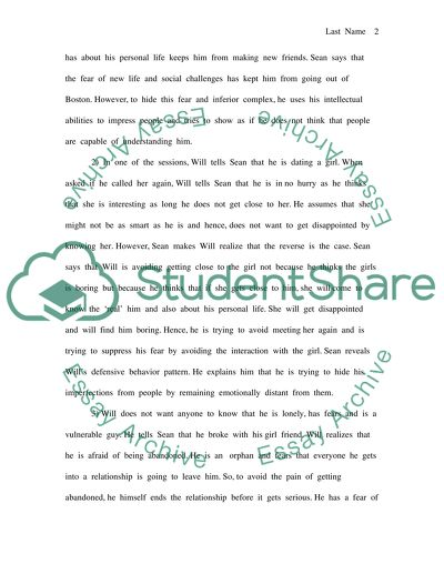 good wil hunting essay prompt
