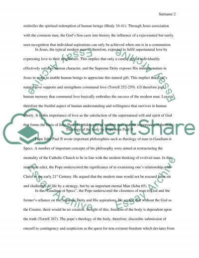 Human nature in the light of Revelation essay example