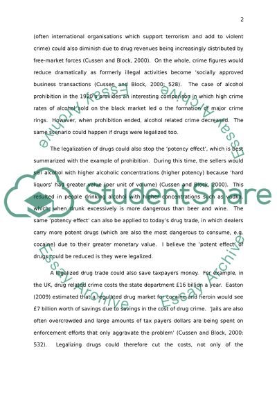 Where Is A Thesis Statement In An Essay Legalizing Drugs Thesis Argumentative Essay also Compare And Contrast Essay Examples For High School Legalizing Drugs Essay Example  Topics And Well Written Essays  Sample Essay Topics For High School