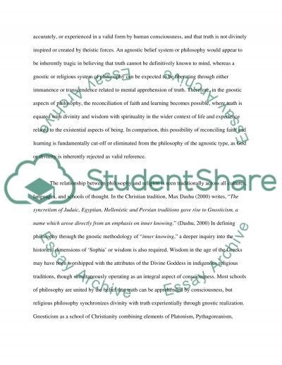 Philosophical methods and their role in integrating learning and faith essay example
