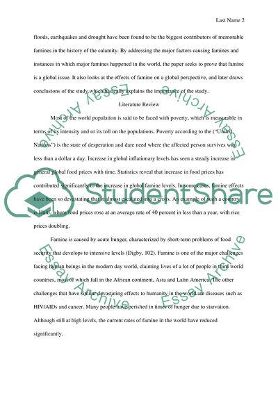 World issues essay topics