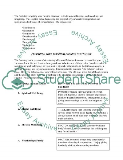 PEDE essay example