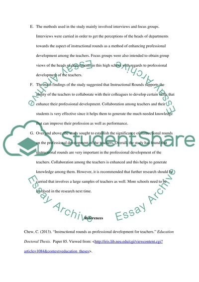 Instructional Rounds (Review 5)