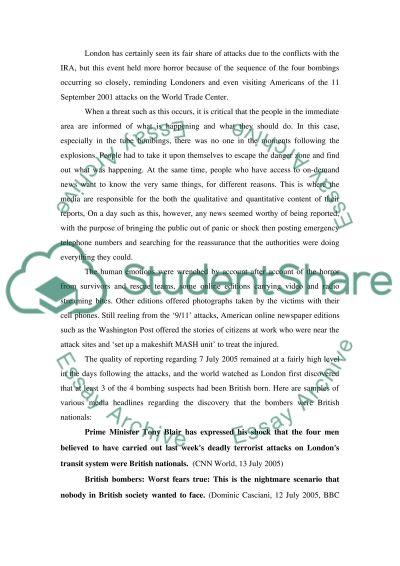 Media Relations College Essay