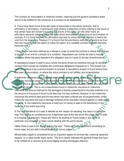 Research Paper on Business Law Essay example