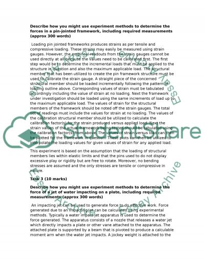 Department of Mechanical and Automotive Engineering essay example