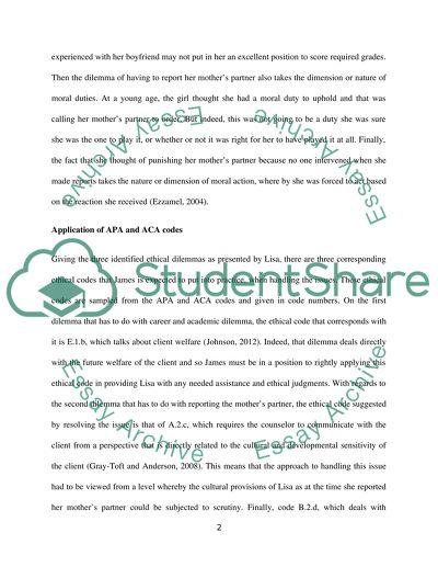 Case study analysis paper