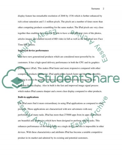 IPAD VS TABLET essay example