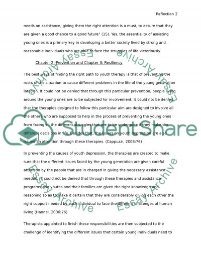Psychological Therapies and Youth essay example