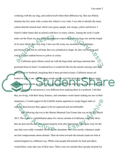 Personal narrative essay papers