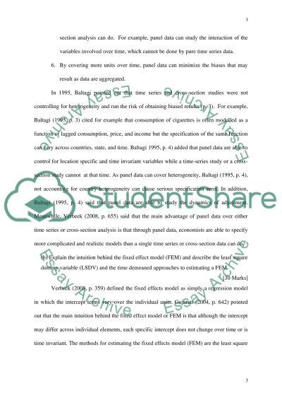 QUANTITATIVE RESEARCH METHODS-SEEN EXAM essay example