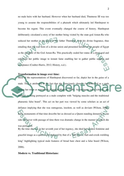 building program of hatsepsut essay example Download thesis statement on hatshepsut in our database or order an original thesis paper that will be written by one of our staff writers and.