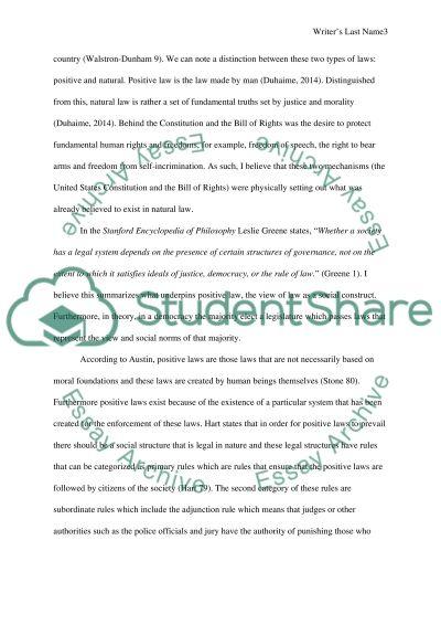 Civil law essay