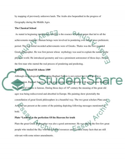 Geography And The Study Of The Environment But Mainly The Scientific Revolution essay example