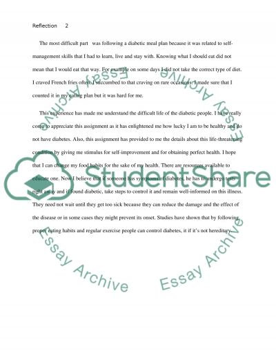 Apa Format For Essay Paper Reflection Paper Of Being Diabetic Essay Example Topics And Well  Search Essays In English also Essay On Paper Essay On Diabetes  Tirevifontanacountryinncom Topics For Essays In English
