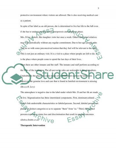Living with Stigma essay example