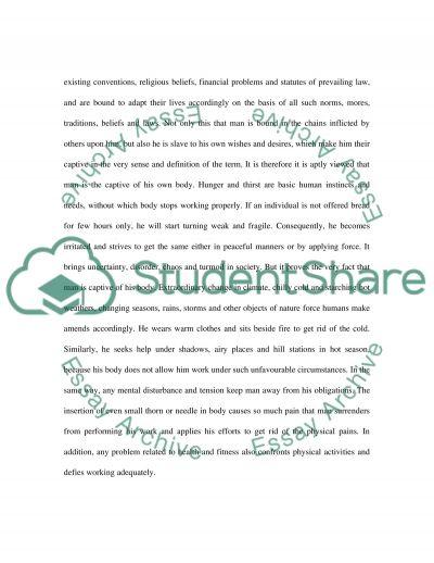 Captivity essay example