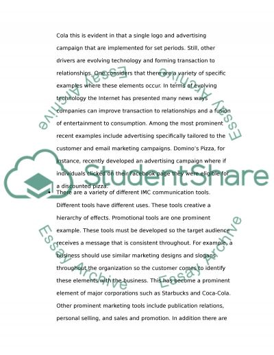 Marketing - Exam on Marketing Essay example