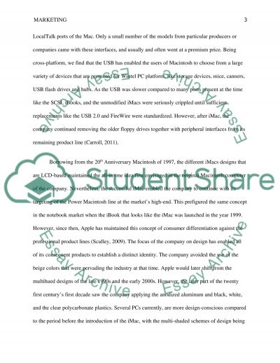 Marketing Strategy Term Paper example