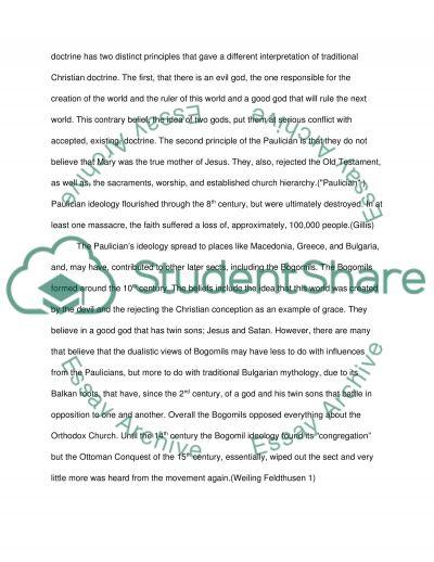 Christianti essay example
