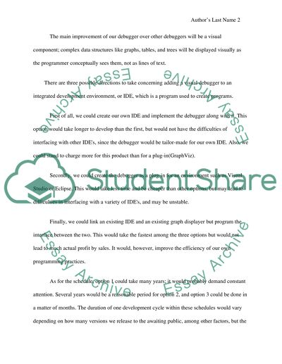 computer science research proposal essay example  topics and well  computer science research proposal