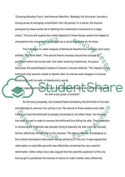 Romanticism Literature Essay Example  Topics And Well Written  Romanticism Literature Essay My Hobby Essay In English also Help Writing A Novel  High School Dropouts Essay