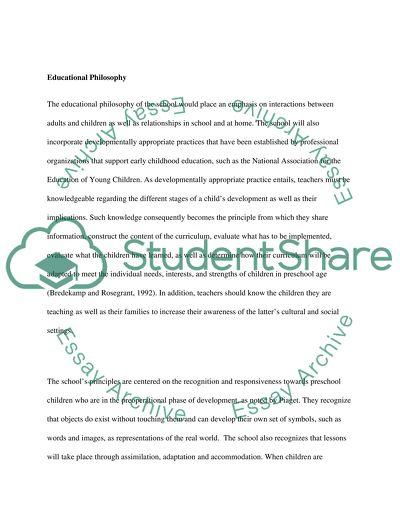 Dream School Term Paper
