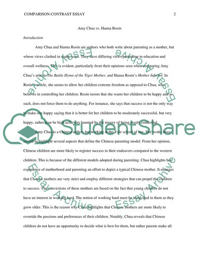 College Essay Paper Comparisoncontrast Essay Expository Essay Thesis Statement Examples also Exemplification Essay Thesis Comparisoncontrast Essay Example  Topics And Well Written Essays  After High School Essay