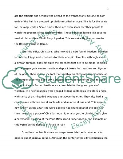 Edict of Milan essay example