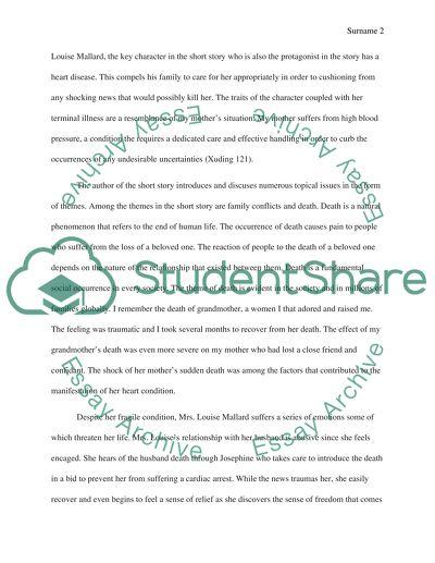 Literature Response Essay