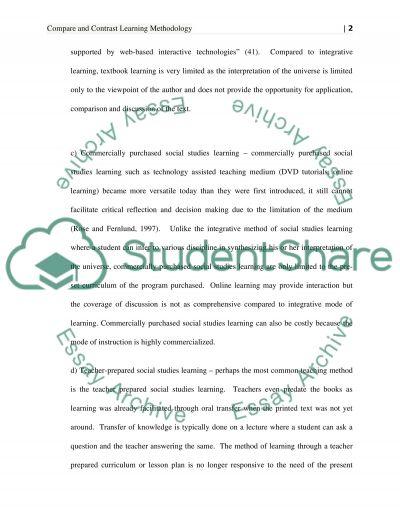 Different essay writing methods