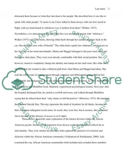 Good Example Essays Sula Essays Social Tensions In The African American Community In Social  Tensions In The African American Essay Speech Format also Fictional Narrative Essay Sula Essay Sula Essays Social Tensions In The African American  Argumentative Essay On Welfare
