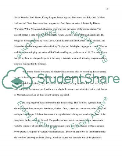 Listening Journals 5 essay example
