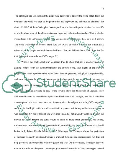 Literary Analysis Slaughterhouse Five Essay Example  Topics And  Literary Analysis Slaughterhouse Five I Need A Professional Business Plan Writer also How To Write A Research Essay Thesis  Statistic Help