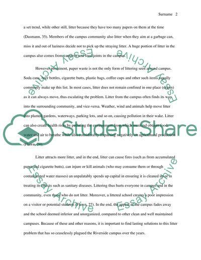 Proposing a solution essay topics
