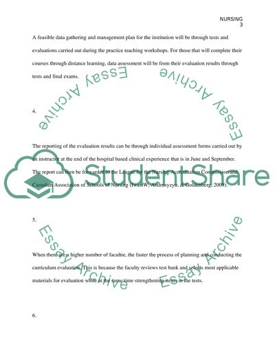 Nursing Assignment Example   Topics and Well Written Essays - 250