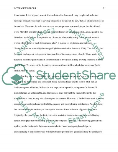 Small business essays