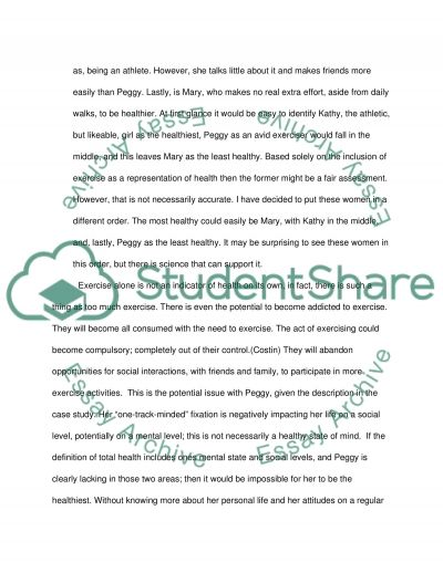 Health Education essay example