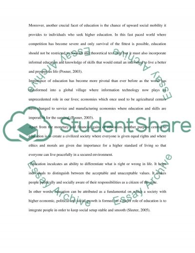 The Role, Purpose and Value of Design and Technology in the School Curriculum essay example