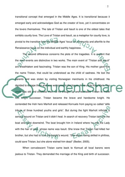 high school love story essay