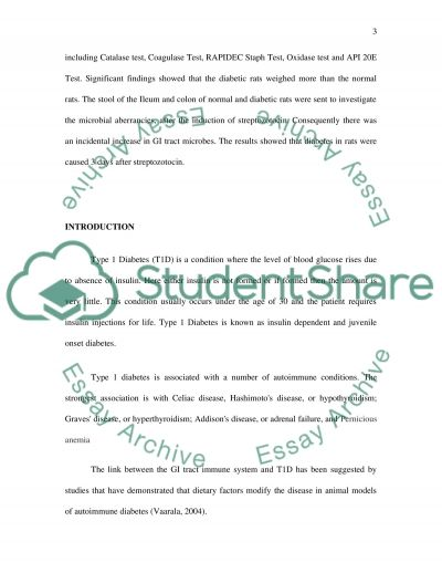 Microbiology essay example
