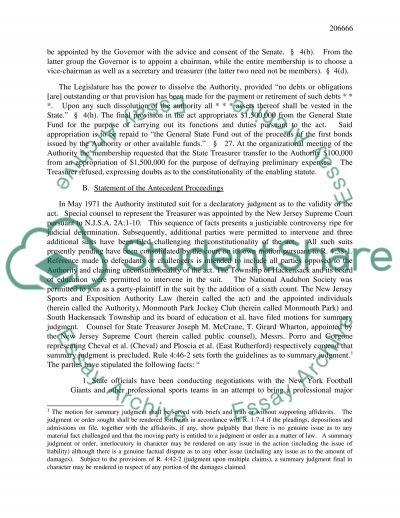 Legal case essay example