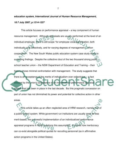 term paper on compensation management This free management essay on essay: performance appraisals is perfect for management free management essays home compensation management and.