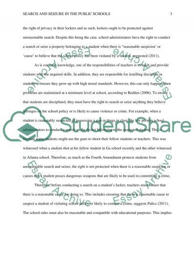 Student Freedoms essay example
