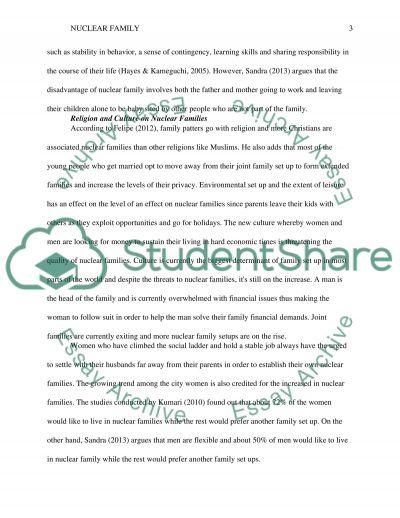 ideal family essay
