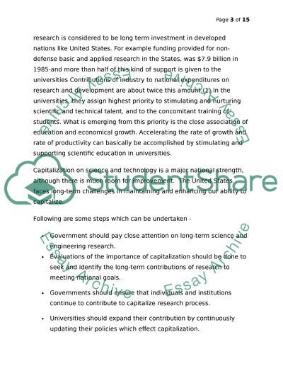 Investment in Education Essay Example | Topics and Well Written