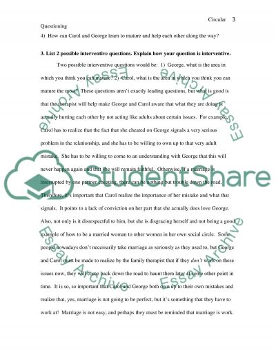 family therapy essay questions